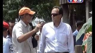 US Ambassador's Visit To Cambodia HARVEST In Pursat On Cambodian TV3 National News.mp4
