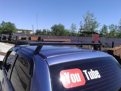 Багажник на крышу матиза своими руками 90