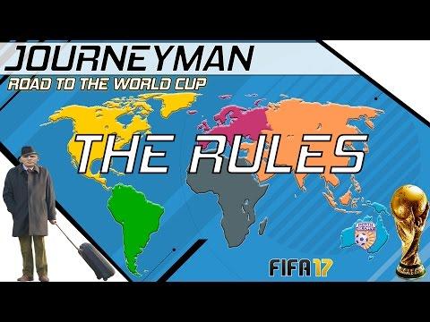 Fifa 17 - Journeyman - Road to the World Cup - Setup (видео)
