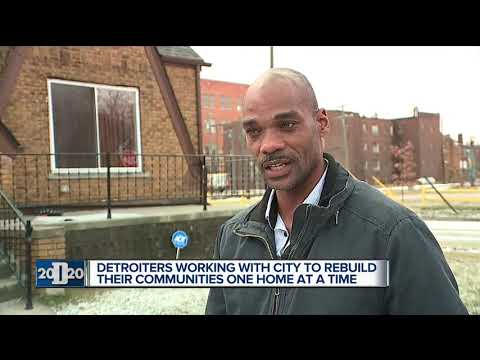 Neighborhood Comeback: Detroiters work to rebuild blocks, one home at a time