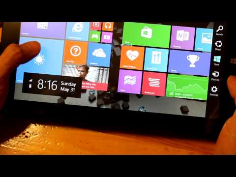 Unboxing of Chuwi Vi10 Dual OS Tablet from China