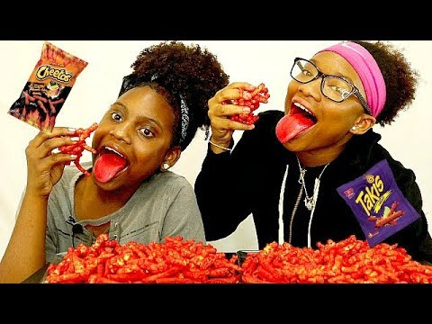 Video HILARIOUS EXTREME XXTRA FLAMIN HOT CHEETOS AND TAKIS CHALLENGE! ( MUST WATCH TIL THE END) REALLY HOT download in MP3, 3GP, MP4, WEBM, AVI, FLV January 2017