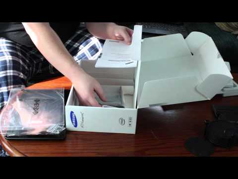 Samsung ATIV Smart PC Pro Unboxing and Overview (XE700T1C) - Finlay's Know How
