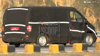 force motors OnCars Exclusive: Force Motors' Upcoming MPV Spied