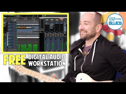 Setting Up A DAW And Recording Music With 100% Free Software!