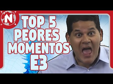 TOP 5 - PEORES Momentos de Nintendo en los E3