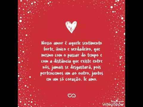 Versos de amor - UM VERSO DE AMOR #Alex e Pâmela#