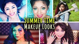 "A compilation of my summer makeup tutorials! Includes waterproof makeup (great for swimming!), summer makeup routines, makeup/fashion ideas for camping, a Fourth of July makeup look, and a boho chic look. Hope you enjoy! Keep on shining! - Charisma StarWant to know me more? Come hang out with me:SNAPCHAT: ""Charisma.Star""PERISCOPE: ""CharismaStar""FACEBOOK: http://www.facebook.com/CharismaStarTVTWITTER: http://www.twitter.com/CharismaStarTVCharis' INSTAGRAM: ""CharismaStar""NEW! I have a PO Box (finally)!Charisma Star TVPO Box 55193North Pole, AK 99705FOR BUSINESS INQUIRIES, please email:charismastar@mattermediagroup.com Camera: Sony a7sEditor: Final Cut Pro"