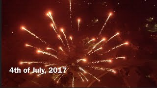 This is just a fun video of the fireworks we did this evening.  I put the drone on an autopilot orbit and hoped for the best.  I hope you enjoy!  I forgot to turn off the flight lights while filming, but I think it still turned out okay.