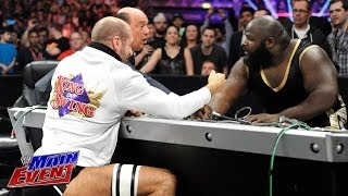 Mark Henry vs. Cesaro - Arm Wrestling Match:  WWE Main Event, May 20, 2014