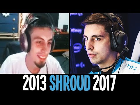 The Evolution Of SHROUD - CS:GO