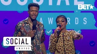 DC Young Fly & Jess Hilarious Give A Lesson On Black Twitter! | Social Awards 2019
