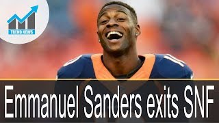 Video Broncos lose Emmanuel Sanders to ankle injury, emmanuel Sanders exits SNF MP3, 3GP, MP4, WEBM, AVI, FLV Oktober 2017
