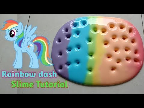 Hacer SLIME ARCOIRIS My Little Pony