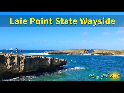 Hawaii Tour  |  Laie Point State Wayside  |  Laie. Honolulu, Oahu, Hawaii, USA