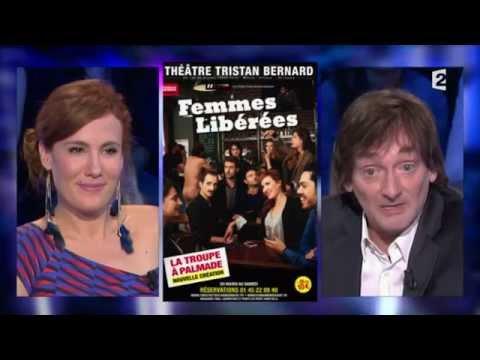 Pierre Palmade & Noémie de Lattre On n'est pas couché 26 avril 2014 #ONPC