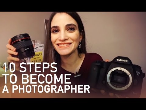 How You Can Become A Photographer