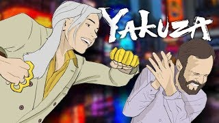 Beating Off Japanese Men - Yakuza Kiwami 2 Gameplay