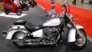 6. 2014 Honda Shadow Aero VT750 Walkaround - 2014 Toronto Motorcyle Show