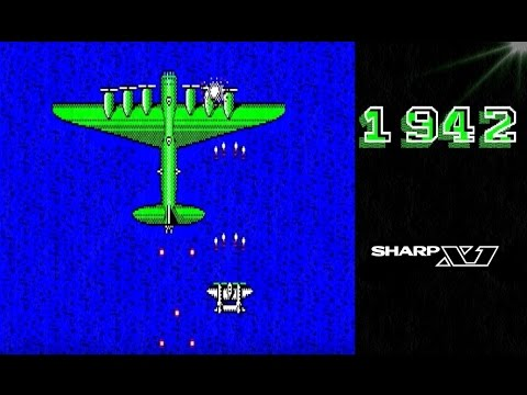 1942 SHARP X1 レトロゲーム