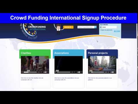 Crowd Funding International Joining Procedure
