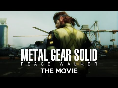 Metal Gear Solid: Peace Walker - The Movie [HD] Full Story