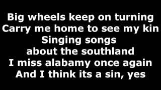 Lynyrd Skynyrd - Sweet Home Alabama - Lyrics IN Video + Description (HD)
