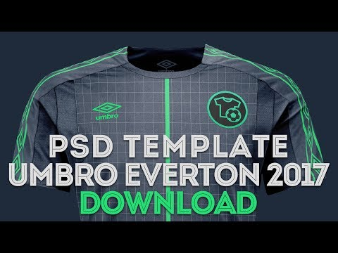 UMBRO Template Download - Football Mockup - PSD