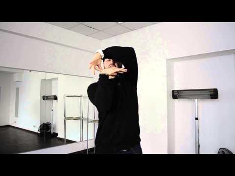 Поппинг: стиль king tut . Урок видео обучения.