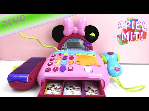 Minnie mouse cash register - Die Kasse von Minnie Mouse Registrierkasse Review