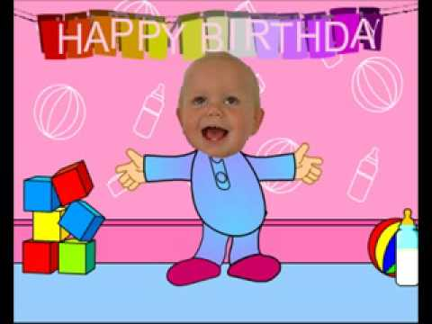 Baby Dancing – Funny Happy Birthday Video Card