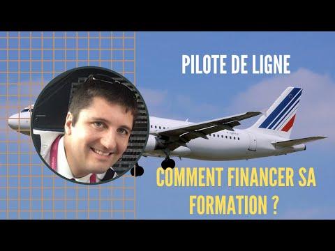 Comment FINANCER SA FORMATION DE PILOTE DE LIGNE ?