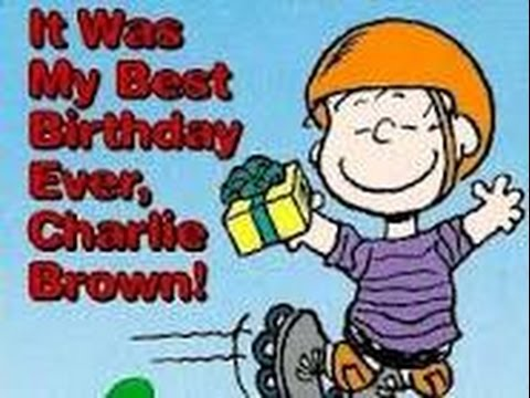 It Was the Best Birthday Ever, Charlie Brown (1996)