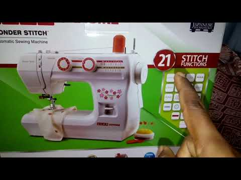 USHA JANOME WONDER STITCH UNBOXING IN TAMIL//TIPS TO BUY TAILORING MACHNE/AUTOMATIC  SEWING MACHINE