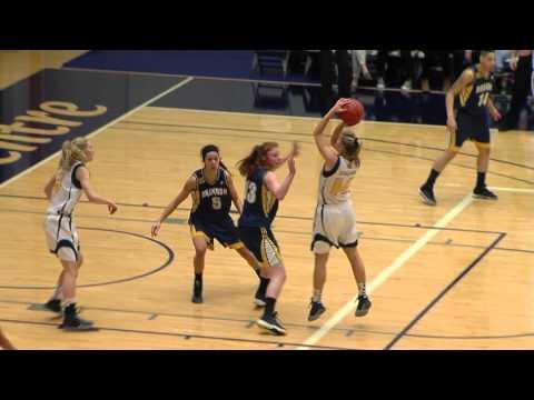 2016-01-29 TWU Women's Basketball Highlights vs Brandon