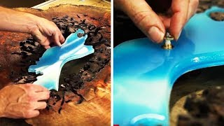 MAGNIFICENT RESIN WOODCRAFT | EPOXY RESIN COMPILATION
