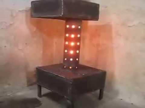 Турбо печь на отработке видео