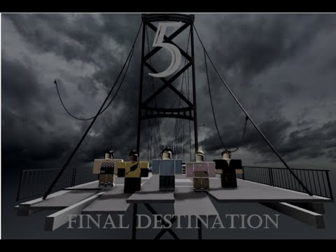 Final Destination 5 Bridge Collapse Scene A Roblox Clip (2020)