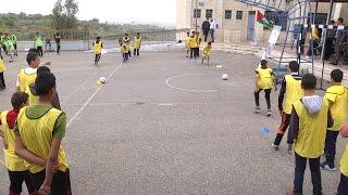 مؤسسة الرؤيا تنفذ مبادرات رياضية في مدرسة ذكور رامين الثانوية