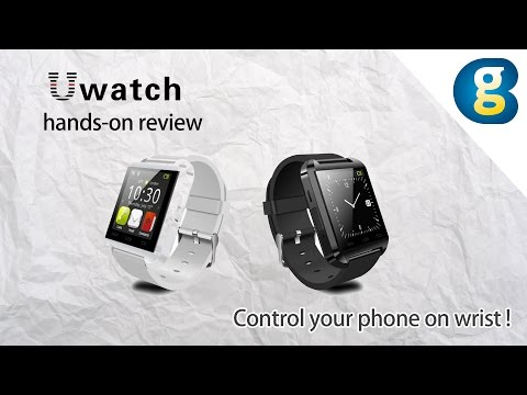 , title : 'Smartwatch U Watch U8 hands-on review: Control your phone on wrist - Geekbuying'