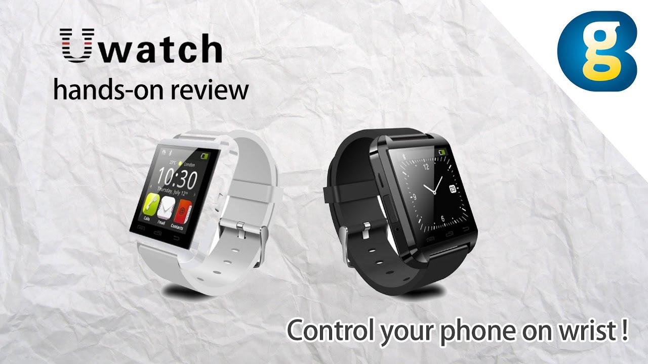 Descargar Smartwatch U Watch U8 hands-on review: Control your phone on wrist para Celular  #Android