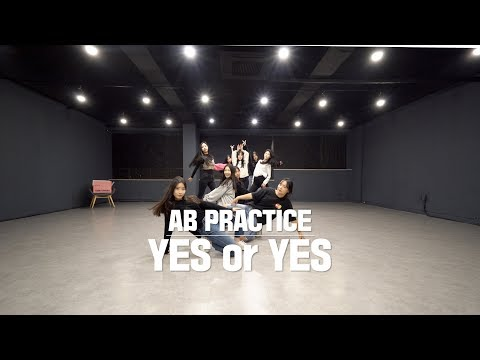 [AB PRACTICE] 트와이스 TWICE - Yes or Yes | 커버댄스 DANCE COVER | 연습실 ver.