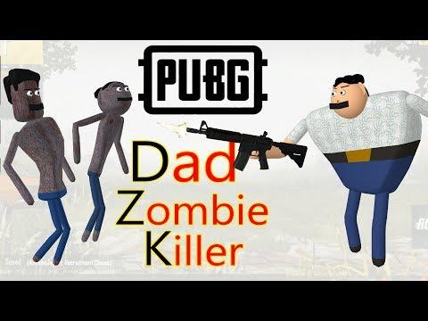PUBG Dad - Zombie Killer | Pubg comedy | Goofy Works | Comedy toons