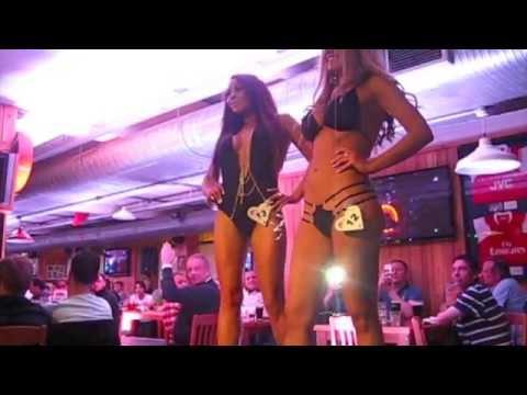 Nottingham Hooters Bikini Contest 2013