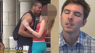 Guy's reaction to his Girlfriend Caught Cheating!