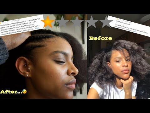 I Went To The Worst Rated / Reviewed Natural African Hair Salon In My City!