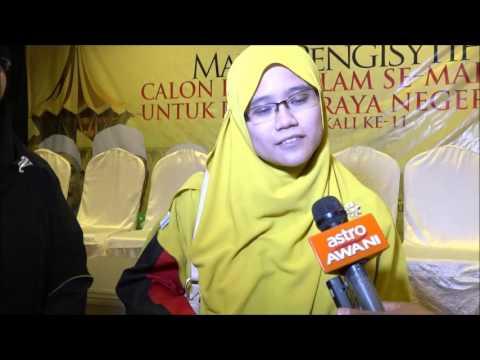 Cik Hamidah Calon PAS Beting Maro Mahu Perjuang Hak Wanita