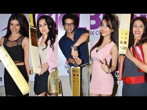 Television Stars At The Box Cricket League