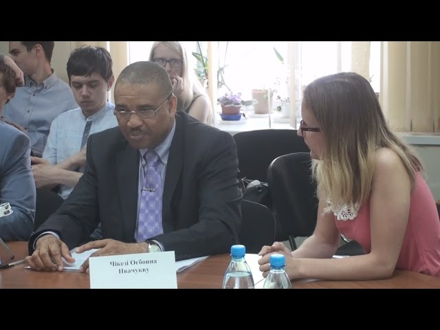 Mr. Chikezie Ogbonna Nwachukwu talks about relations between Nigeria and Ukraine