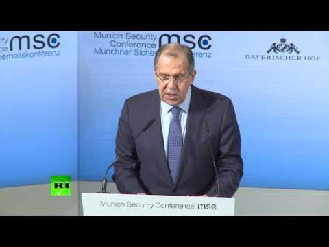 Выступление Сергея Лаврова на Мюнхенской конференции по вопросам безопасности - DomaVideo.Ru